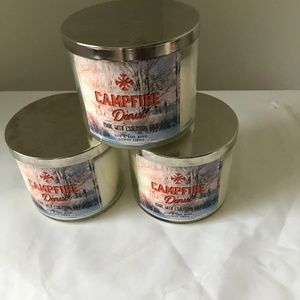 BBW Campfire scented Candles New Bundle3